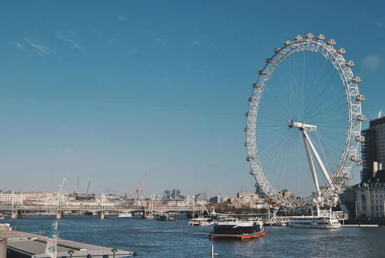 london eye London London lifestyle Londonlife Water Ferris Wheel Sea Amusement Park Ride Amusement Park Nautical Vessel City Blue Clear Sky Sky Bay Of Water Suspension Bridge Modern Workplace Culture Stories From The City Go Higher Adventures In The City Small Business Heroes The Architect - 2018 EyeEm Awards The Great Outdoors - 2018 EyeEm Awards The Traveler - 2018 EyeEm Awards #urbanana: The Urban Playground The Art Of Street Photography
