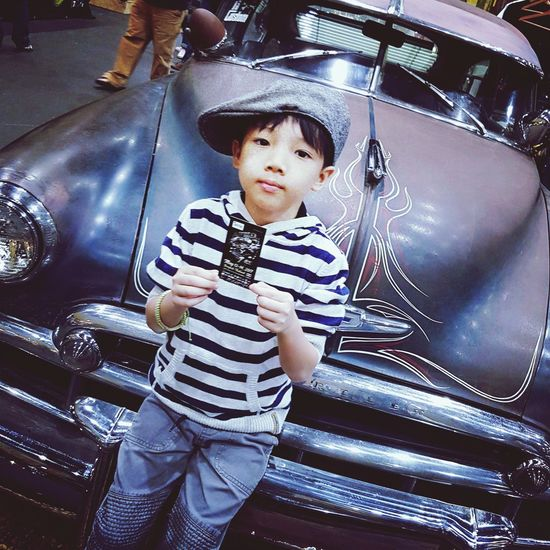 My own way Baby Striped Childhood Playing Happiness Babies Only Kid เด็ก Transportation Thailand Taking Photos EyeEm Gallery Warrooms Child Monocrome HotRod HotRods HotRodWeekendParty