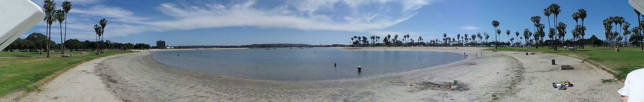 Mission Beach San Diego Panoramic