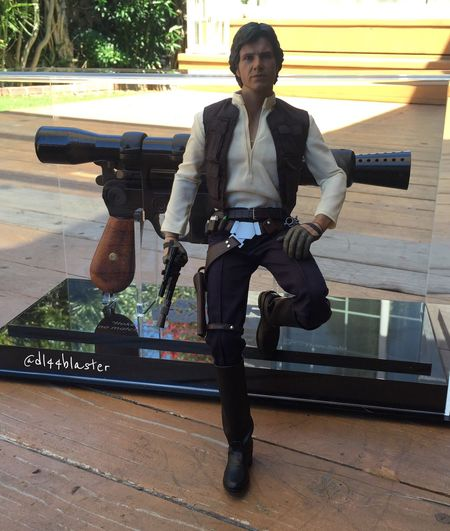 Hot Toys Hansolo Chewie TheForceAwakens Anewhope Bb8 Theempirestrikesback Han Shot First Rogue One Thefirstorder Dl44blaster Dl44 Rogue On A Star Wars Story Starwars