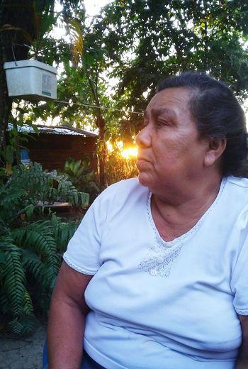 Mexico El Higo Grandma Abuela Sunset