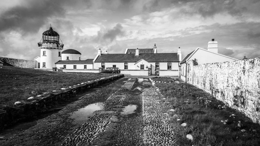 Ireland Lighthouse Architecture Building Exterior Built Structure Clare Island No People Outdoors