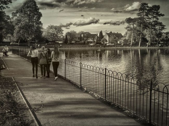 Walk On By... Parks Parks And Recreation Blackandwhite Balck And White Photography Blackandwhitephotography Monochrome Monochrome Photography Monochromatic