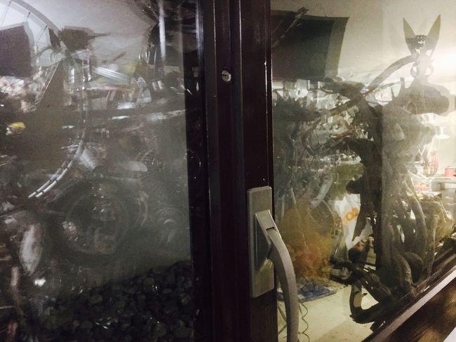 Showcase: December Myhobby Hobby KLIMPI KLIMPERATOR Klimpi-klimperator Light And Shadow Spiegelung Glass Reflection