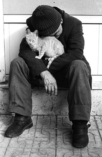 © Soner Yaman,2003,Turkey Homeless Cats Homelessness  Homeless Life Turkey Soneryaman Negativeimage Negativescans Film Photography Yaşamdankareler Yasamin Kiyisinda.. Man Men Cat♡ Cats Of EyeEm Catoftheday