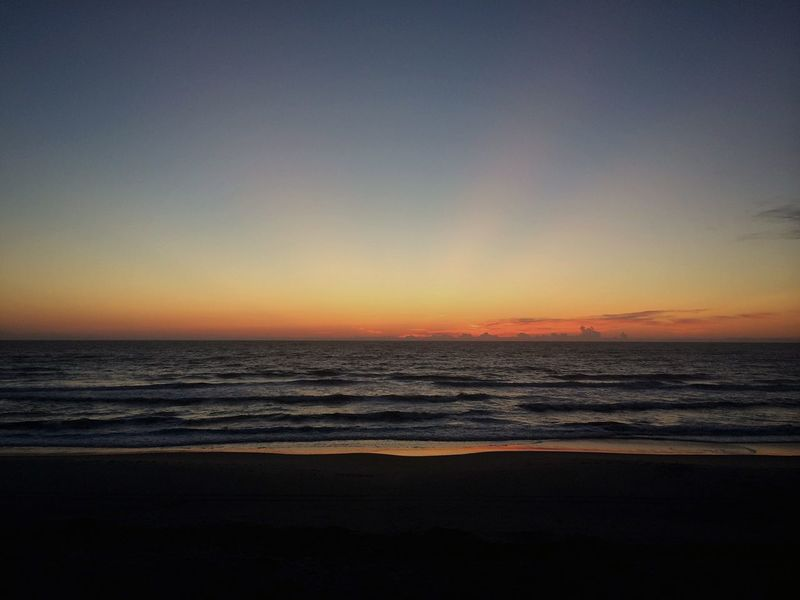 Colorful horizon...before Sunrise Enjoying The View EyeEm Nature Lover Nature_collection Ocean View Life Is A Beach Sky Summer Views Ladyphotographerofthemonth Outer Banks, NC USA
