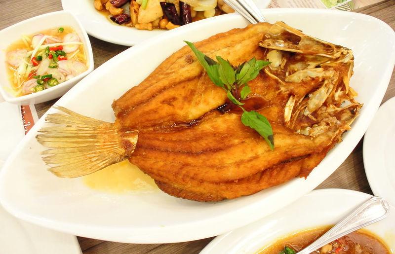 Fried fish,