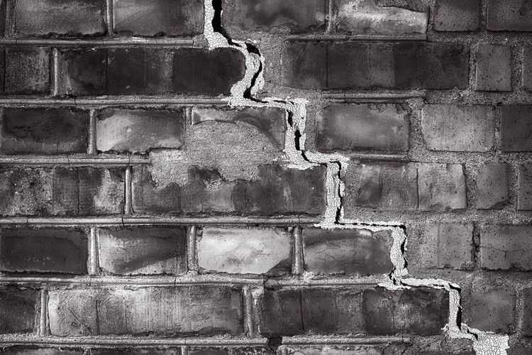 brick wall with