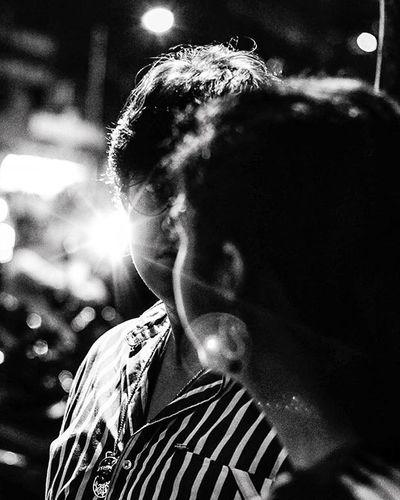 Monochrome Portrait Candid Light Flares Street Photography Lovers_at_sight Facetoface Throwback Ramzan 2014 Night Mumbai