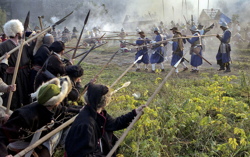 Battle Battlefield Historical Reconstruction History Large Group Of People Leisure Activity Men Old Weapon Old Weapons Outdoors People Reconstruction Group Riot Smoke - Physical Structure Soldiers Ukraine Vintage XVII Century EyeEmNewHere