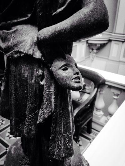 Behind The Masks detail mask