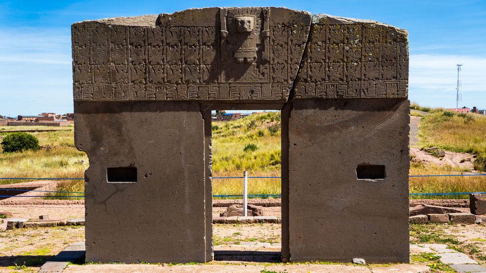 Puerta del sol Ancient History Bolivia Inca IncaTrail  Tiahuanaco Tiwanaku Abandoned Ancient Aliens Ancient Architecture Ancient Civilization Architecture Built Structure Day History No People Old Ruin Outdoors Sky The Past