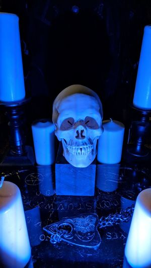The Wilde Collection Skull Candles Ouija Ouija Board  Blacklight Dark Creepy Eerie The Wilde Collection Houston Htown Htx Texas Travel Travel Photography Travel Blogger Good Times Followme Pixelxl2