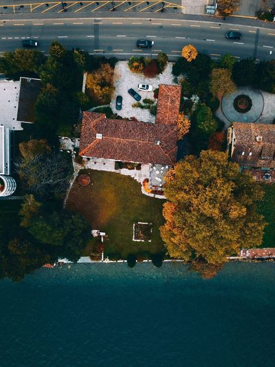 Awesome Zollikon Zürich Zürichsee Schweiz Swiss Mavic Pro Drohnenaufnahme Swissdrone Dronephotography Droneoftheday Drohne Building Exterior Architecture Built Structure Outdoors Day Tree Water No People City Beauty In Nature Nature