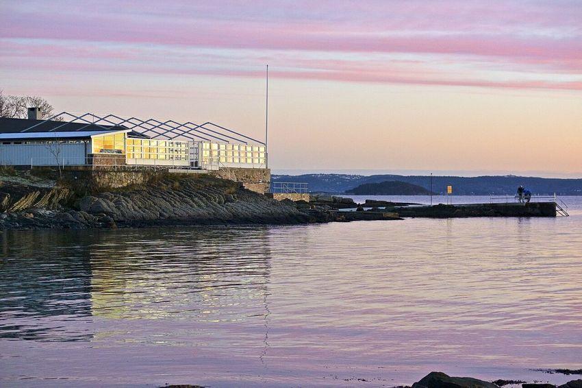 Strand restauranten på Huk ble opprinnelig bygget for Quisling som badehus Visitoslo Oslo Bygdøy Huk