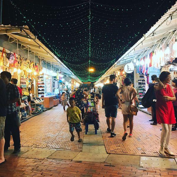 Retail  Cambodia Market Siem Reap Illuminated Night Market The Street Photographer - 2017 EyeEm Awards