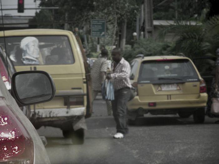 Lagos Nigeria! Just another Las-Gidi morning! Streetphoto_bw