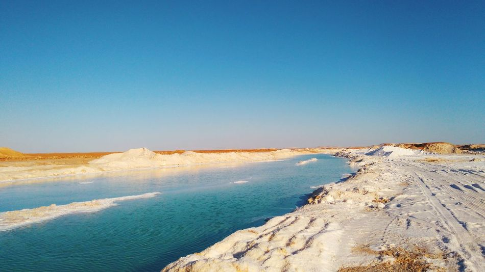 Lake Lakeshore SaltLake In Nature  Summertime Lakeside Blue Lake Deserts Around The World Desert Beauty Natural Beauty Beauty In Nature My Point Of View EyeEm Nature Lover EyeEm Best Shots EyeEmNewHere Travel Destinations Travel Travel Photography Check This Out Siwa Oasis Relaxing Healthy Lifestyle Serenity Outdoors Outdoor Photography