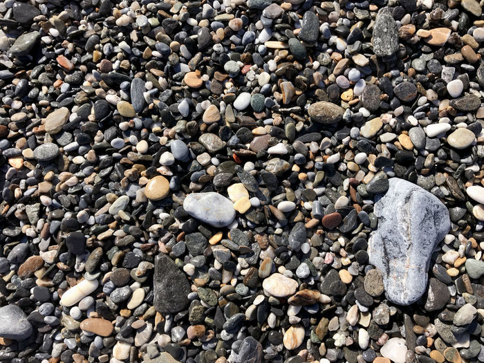 Beach stones at surf Abundance Beach Pebble Pebble Beach Rock - Object Stone Stone Object Stones
