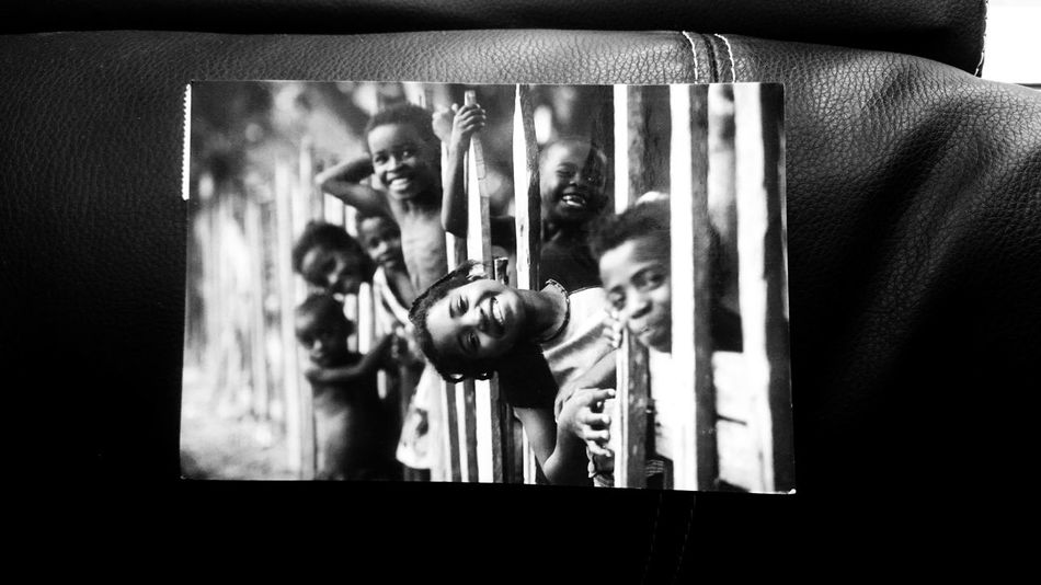 Children Memories Postcard Art And Craft Auto Post Production Filter Black And White Blackandwhite Close-up Human Representation Indoors  Lifestyles Mirror Monochrome People Photography Themes Real People Reflection Representation Selective Focus Togetherness Transfer Print
