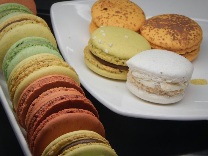 Beautifully Organized Food Bread Breakfast Ready-to-eat Wholegrain Whole Wheat Freshness Close-up No People Macaroons Macarons