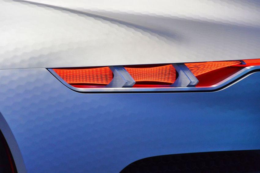 Aluminium Close-up Conceptcar French Car Indoors  Low Angle View Paris International Motor Show 2016 Rear Lights Renault Renault Trezor