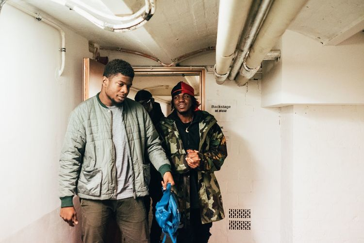 Mick Jenkins and Kirk Knight before The show Music Photography  Concert Photography Concert Berlin