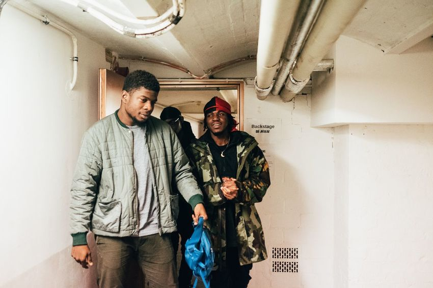 Mick Jenkins and Kirk Knight before The show Music Photography  Concert Photography Concert Berlin The Photojournalist - 2018 EyeEm Awards