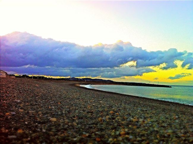 Enjoying The Sun Beach Stone Sky_collection