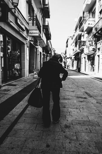 City City Life One Person People Real People Rear View Street Streetphotography Woman First Eyeem Photo