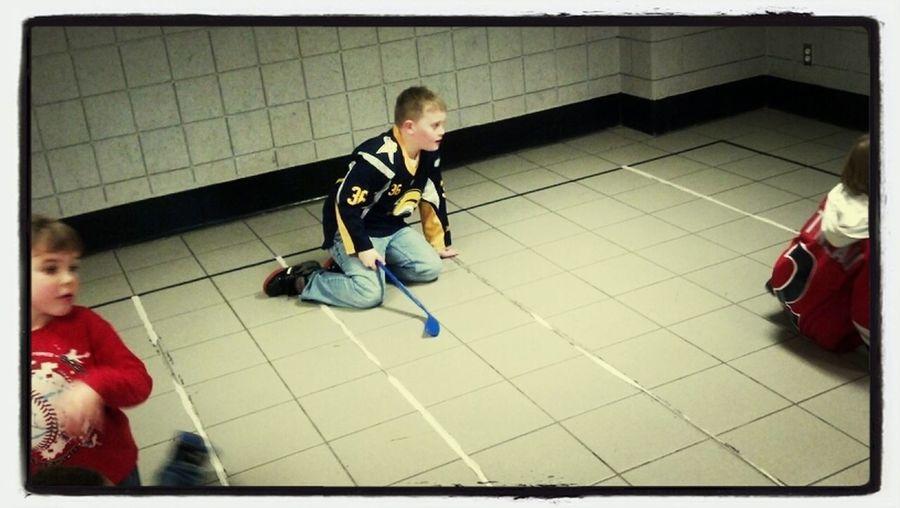 Knee Hockey