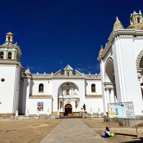 Copacabana Cathedral Bolivia Nuestra Señora De Copacabana Titicaca Lake