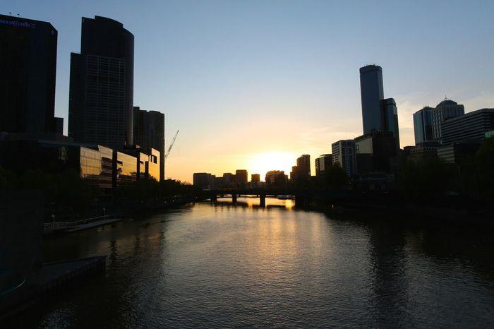 Sunset Urban Landscape Sunset Silhouettes The Moment - 2014 EyeEm Awards Cityscapes