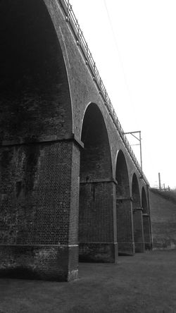 Viaduct Brickwork  Arches Arched Blackandwhitephotography Black And White Photography Black & White At The Park Chelmsford Pattern Pieces Urban Landscape