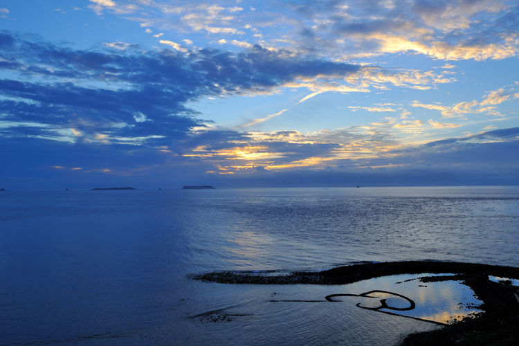 Scenic Penghu Taiwan coast, broad and grand, the four seasons have different feelings. Double Heart Stone Pool Natural Taiwan Beauty In Nature Cloud - Sky Coastal Day Double Heart Fresh Horizon Over Water Landscape Nature No People Outdoors Peaceful Penghu Scenics Sea Seaside Sky Sunset Tranquil Scene Tranquility Water