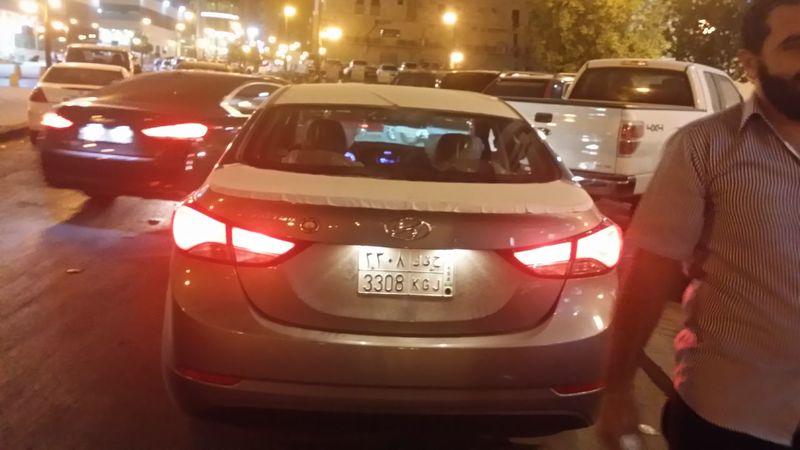 Car Elantra Hyndai Riyadh