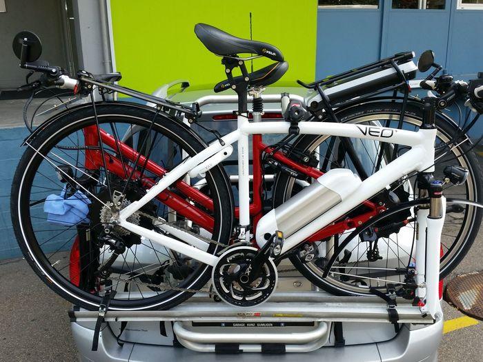 E-bike VEO-Bike Bycicle Radfahren Unterwegs Transport