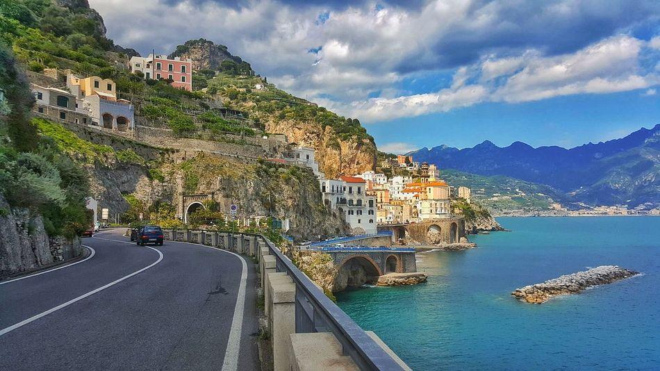 Amalfi Coast Italy Road