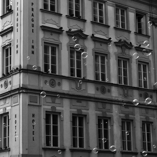 Hello World Check This Out Prague Architecture Blackandwhite Bubbles Fliying True The City Bestoftheday EyeEm Best Shots Eye4photography  EyeEm Gallery EyeEm Best Edits EyeEmBestPics EyeEm Best Shots - Black + White EyeEm Masterclass What Do You Think?