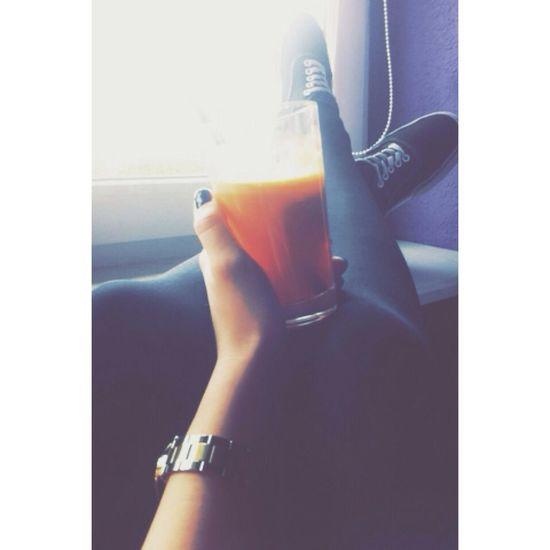 Carrot Juice Healthy Legs Relaxing