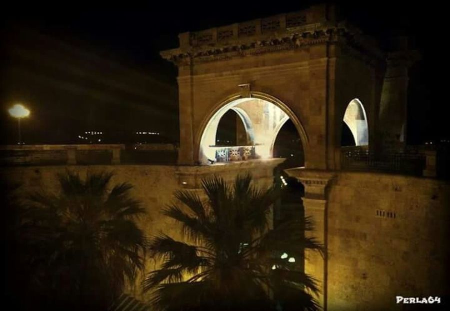 Cagliari By Night Sardegna Taking Photos Light And Shadow