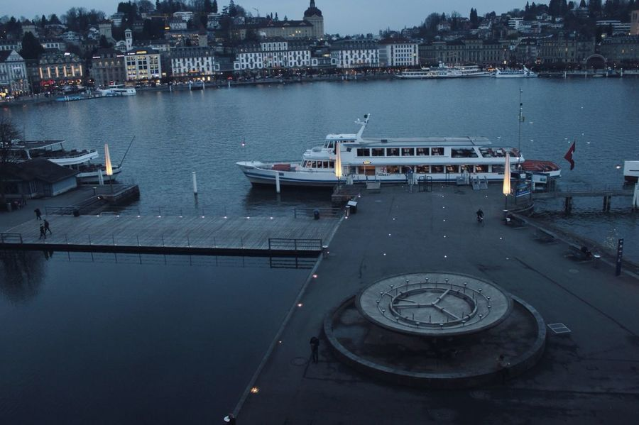 Luzern Switzerland From The Rooftop