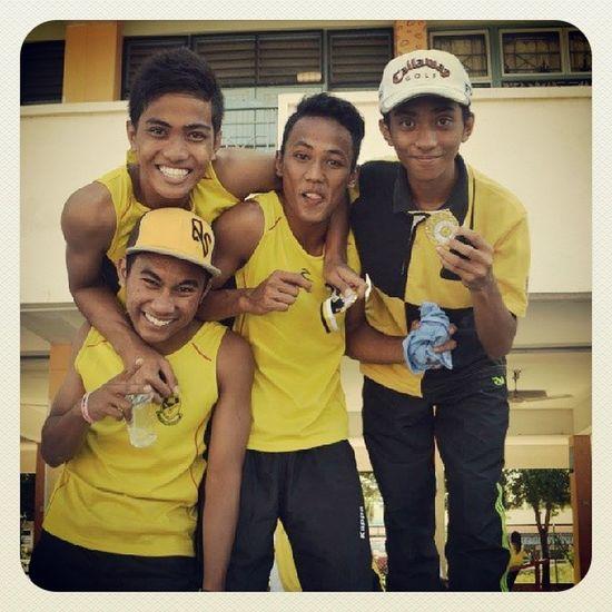 2013 - Miss this Olahraga Quartet . All the way win . 9 emas 1 perak :)