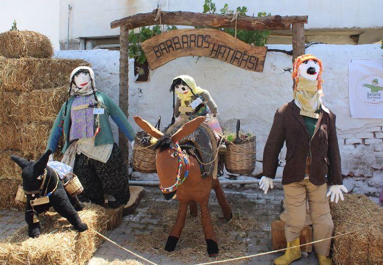 Barbaros Scarecrow Festival - Turkey. Barbaros Oyuk Festivali. Barbaros  Urla Oyuk Korkuluk Scarecrow Festival Photo By Sinan Keskin Photo By @snnkeskin Egedefestival.com