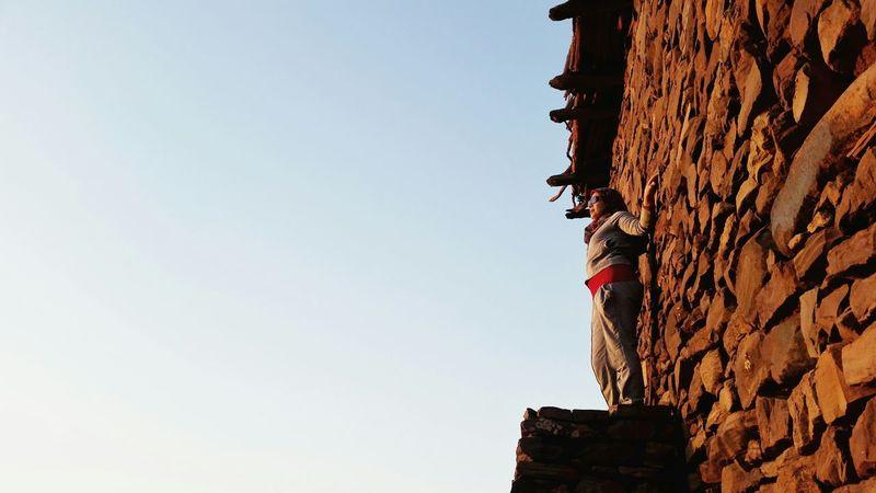 Beautiful Photography Enjoyingtheview Enjoying Life Showcase: December Taking Photos BenAfir Capture The Moment Sunsetview Walls Stone Wall The Wall