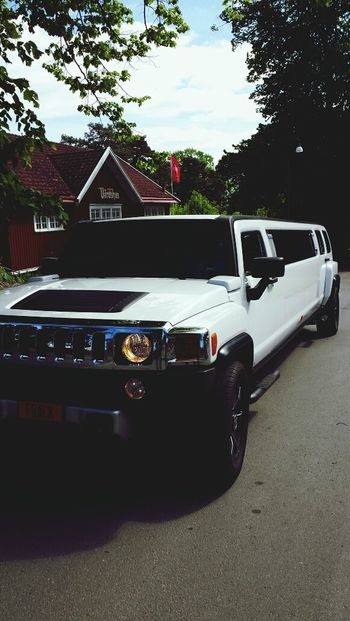 our prom ride. Limousine Hummer H2 Car