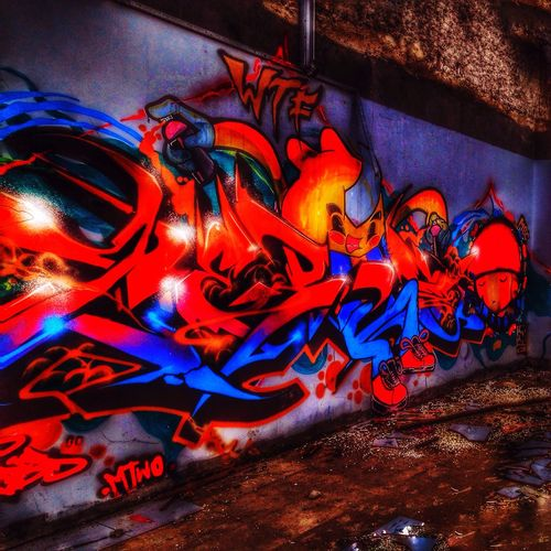 HDR Hdr_Collection Hdr_captures Graffiti Graffiti Art Graffiti Wall No People Illuminated Outdoors Graffiti Collection @safeeugene78 StreetArtEverywhere Multi Colored