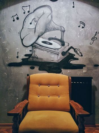Armchair Cafe Cafe Time Chair Comfortable Decoration Design Detail Enjoying Life Furniture Gramophone Home Indoors  Interior Interior Design Man Made Object Music Old Relaxing Relaxing Time Sofa Taste Vintage Wall Wallpaper Paint The Town Yellow Paint The Town Yellow EyeEm Ready