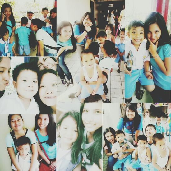 met these Little Angels today! Give Back.. spirit of Christmas.. feel so Blessed  .. :)
