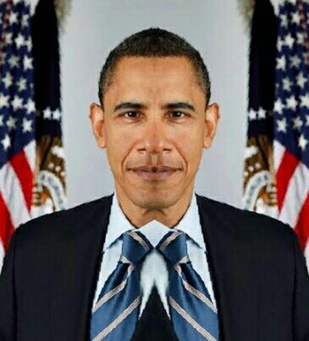 Mirror Image Obama Barack Obama President Barackobama